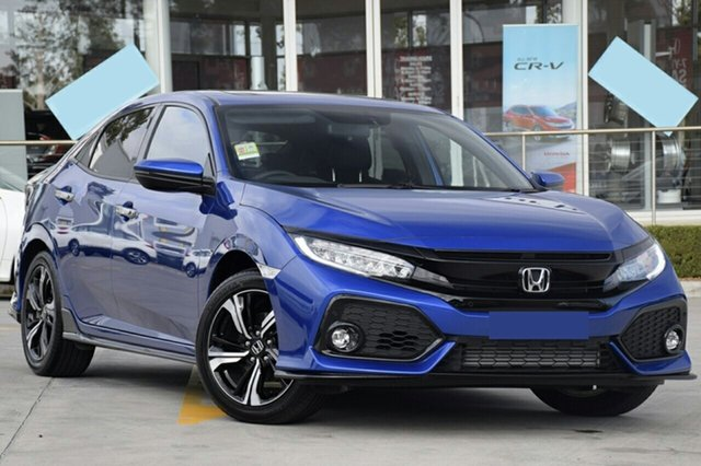 New Honda Civic 10th Gen MY20 RS, 2019 Honda Civic 10th Gen MY20 RS Brilliant Sporty Blue 1 Speed Constant Variable Hatchback