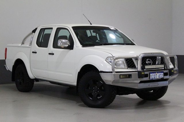 Used Nissan Navara D40 ST-X (4x4), 2007 Nissan Navara D40 ST-X (4x4) White 6 Speed Manual Dual Cab Pick-up