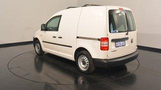 2015 Volkswagen Caddy 2KN MY15 TSI160 SWB Runner White 5 Speed Manual Van.