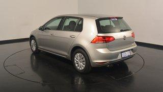 2013 Volkswagen Golf VII 90TSI DSG Tungsten Silver 7 Speed Sports Automatic Dual Clutch Hatchback.