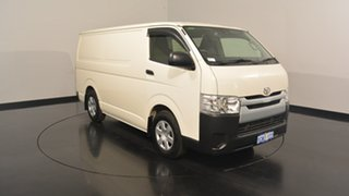 2016 Toyota Hiace KDH201R LWB White 5 Speed Manual Van.