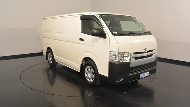 Used Toyota Hiace KDH201R LWB, 2016 Toyota Hiace KDH201R LWB White 5 Speed Manual Van