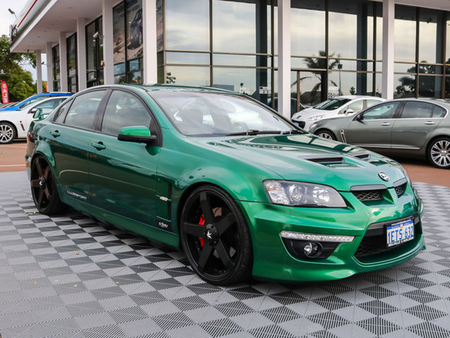 Used Holden Special Vehicles Clubsport E Series 2 R8, 2009 Holden Special Vehicles Clubsport E Series 2 R8 Green 6 Speed Sports Automatic Sedan