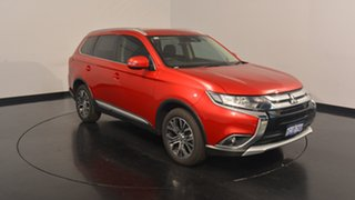 2016 Mitsubishi Outlander ZK MY17 LS 4WD Safety Pack Red 6 Speed Sports Automatic Wagon.