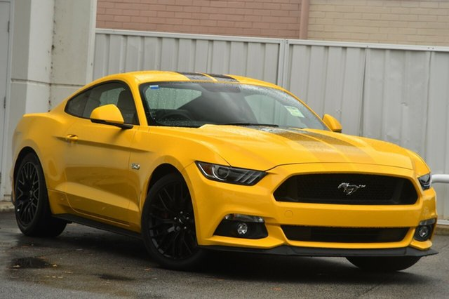 New Ford Mustang FM MY17 GT Fastback SelectShift, 2017 Ford Mustang FM MY17 GT Fastback SelectShift Triple Yellow 6 Speed Sports Automatic Fastback