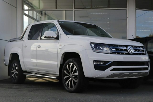 New Volkswagen Amarok 2H MY18 TDI580 4MOTION Perm Ultimate, 2018 Volkswagen Amarok 2H MY18 TDI580 4MOTION Perm Ultimate Candy White 8 Speed Automatic Utility