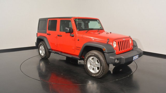 New Jeep Wrangler JK MY2015 Unlimited Sport, 2015 Jeep Wrangler JK MY2015 Unlimited Sport Firecracker Red 5 Speed Automatic Softtop