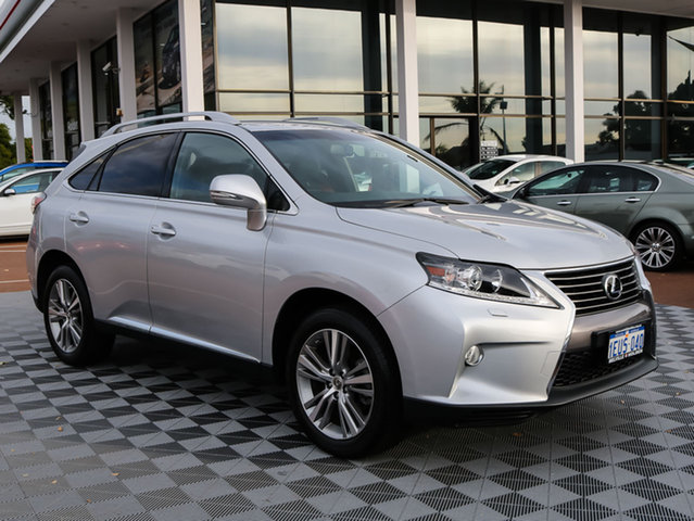 Used Lexus RX350 GGL15R Luxury, 2015 Lexus RX350 GGL15R Luxury Silver 6 Speed Sports Automatic Wagon