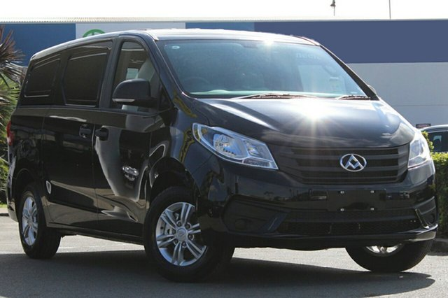 New LDV G10 SV7C , 2019 LDV G10 SV7C Obsidien Black 6 Speed Automatic Van