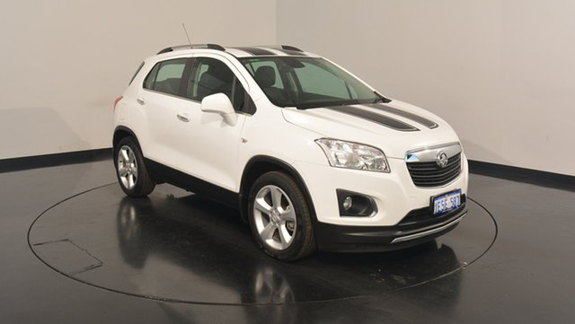 Used Holden Trax TJ MY15 LTZ, 2015 Holden Trax TJ MY15 LTZ White 6 Speed Automatic Wagon