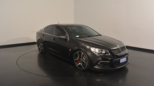 Used Holden Special Vehicles Clubsport GEN-F MY14 R8, 2014 Holden Special Vehicles Clubsport GEN-F MY14 R8 Black 6 Speed Manual Sedan