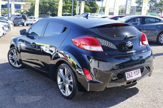 2015 Hyundai Veloster FS4 Series II Coupe Black 6 Speed Manual Hatchback.