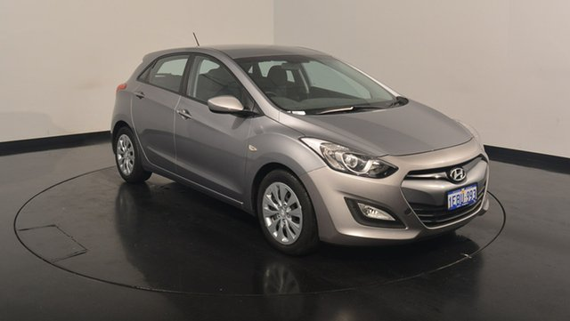 Used Hyundai i30 GD Active, 2012 Hyundai i30 GD Active Hyper Silver 6 Speed Sports Automatic Hatchback