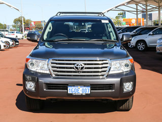 2012 Toyota Landcruiser VDJ200R MY12 Sahara (4x4) Grey 6 Speed Automatic Wagon.