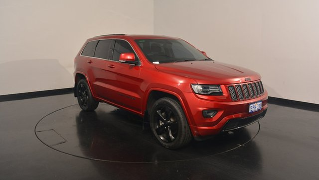 Used Jeep Grand Cherokee WK MY2014 Blackhawk, 2014 Jeep Grand Cherokee WK MY2014 Blackhawk Deep Cherry Red 8 Speed Sports Automatic Wagon
