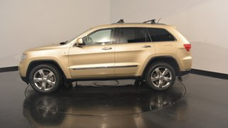 2011 Jeep Grand Cherokee WK MY2011 Limited Gold 5 Speed Sports Automatic Wagon.