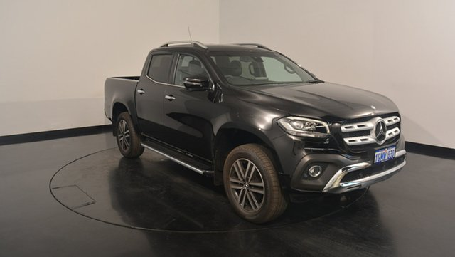 Used Mercedes-Benz X-Class 470 X250d 4MATIC Power, 2018 Mercedes-Benz X-Class 470 X250d 4MATIC Power Kabara Black 7 Speed Sports Automatic Utility