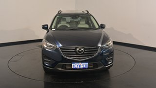 2015 Mazda CX-5 KE1022 Akera SKYACTIV-Drive AWD Eternal Blue 6 Speed Sports Automatic Wagon