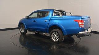 2015 Mitsubishi Triton MQ MY16 Exceed Double Cab Impulse Blue 5 Speed Sports Automatic Utility.