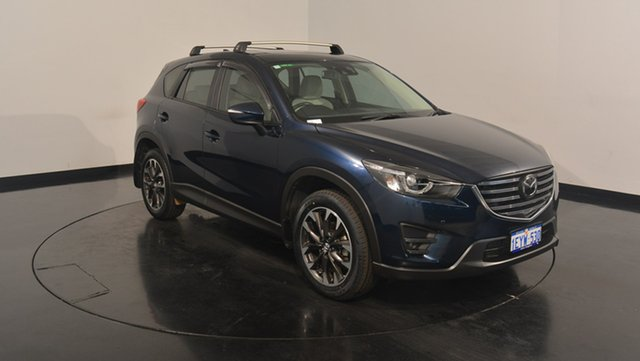 Used Mazda CX-5 KE1022 Akera SKYACTIV-Drive AWD, 2015 Mazda CX-5 KE1022 Akera SKYACTIV-Drive AWD Eternal Blue 6 Speed Sports Automatic Wagon