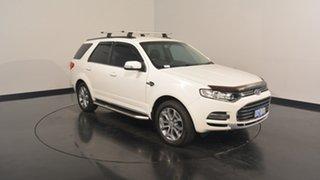 2014 Ford Territory SZ Titanium Seq Sport Shift AWD White 6 Speed Sports Automatic Wagon.