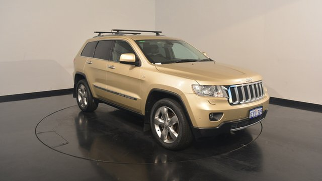 Used Jeep Grand Cherokee WK MY2011 Limited, 2011 Jeep Grand Cherokee WK MY2011 Limited Gold 5 Speed Sports Automatic Wagon