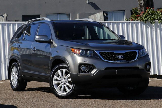 Used Kia Sorento XM MY10 Platinum, 2010 Kia Sorento XM MY10 Platinum Grey 6 Speed Sports Automatic Wagon