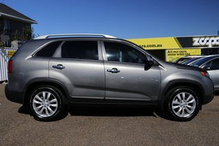2010 Kia Sorento XM MY10 Platinum Grey 6 Speed Sports Automatic Wagon.