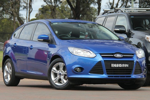 Used Ford Focus LW MKII MY14 Trend, 2014 Ford Focus LW MKII MY14 Trend Winning Blue 5 Speed Manual Hatchback