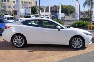 2017 Mazda 3 BN5238 SP25 SKYACTIV-Drive GT Snowflake White 6 Speed Sports Automatic Sedan.
