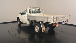 2012 Mitsubishi Triton MN MY12 GL 4x2 White Solid 5 Speed Manual Cab Chassis.