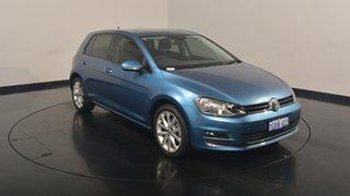 2017 Volkswagen Golf VII MY17 110TDI DSG Highline Pacific Blue 6 Speed Sports Automatic Dual Clutch.