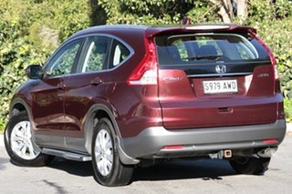 2012 Honda CR-V RM VTi-S 4WD Carnelian Red 5 Speed Automatic Wagon.