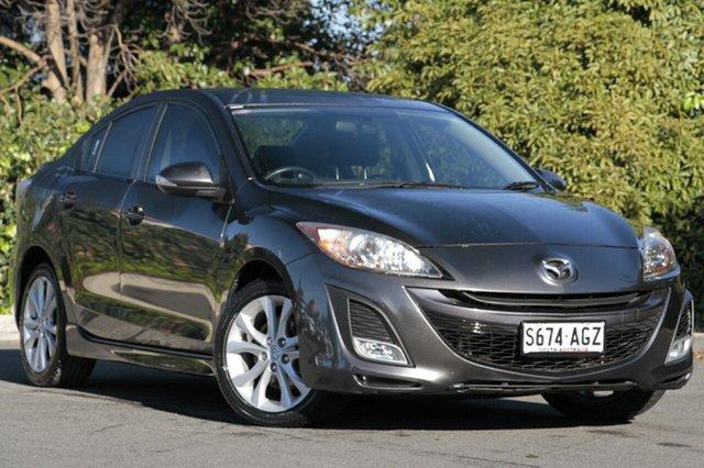 Used Mazda 3 BL10L1 SP25 Activematic, 2009 Mazda 3 BL10L1 SP25 Activematic Metropolitan Grey 5 Speed Sports Automatic Sedan