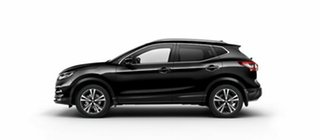 2018 Nissan Qashqai J11 Series 2 ST-L X-tronic Pearl Black 1 Speed Constant Variable Wagon