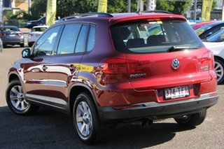 2013 Volkswagen Tiguan 5N MY13.5 132TSI DSG 4MOTION Pacific Red 7 Speed Sports Automatic Dual Clutch.