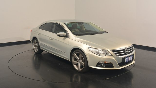 Used Volkswagen Passat Type 3CC MY09 125TDI DSG CC, 2009 Volkswagen Passat Type 3CC MY09 125TDI DSG CC Silver 6 Speed Sports Automatic Dual Clutch Coupe
