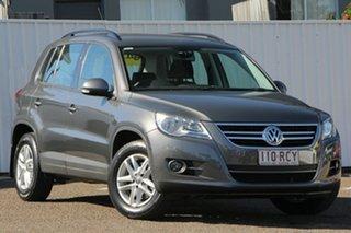 2010 Volkswagen Tiguan 5N MY11 103TDI DSG 4MOTION Grey 7 Speed Sports Automatic Dual Clutch Wagon.