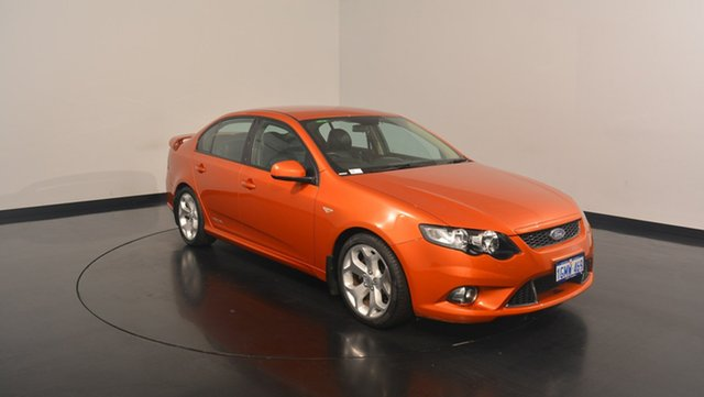 Used Ford Falcon FG XR6, 2011 Ford Falcon FG XR6 Orange 6 Speed Sports Automatic Sedan
