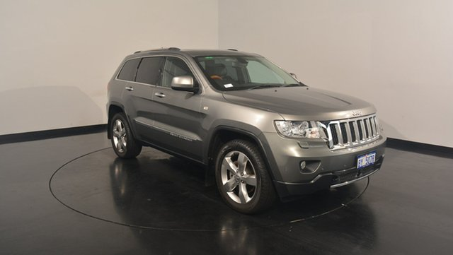 Used Jeep Grand Cherokee WK MY2011 Overland, 2011 Jeep Grand Cherokee WK MY2011 Overland Grey 5 Speed Sports Automatic Wagon