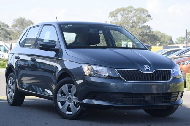 New Skoda Fabia NJ MY20 81TSI DSG, 2019 Skoda Fabia NJ MY20 81TSI DSG Quartz Grey 7 Speed Sports Automatic Dual Clutch Hatchback