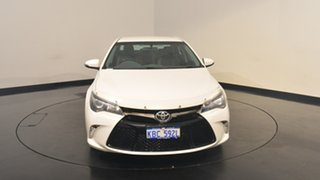 2016 Toyota Camry ASV50R Atara SX White 6 Speed Sports Automatic Sedan