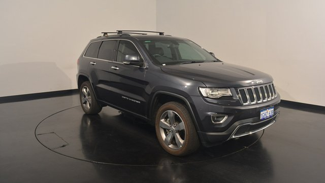 Used Jeep Grand Cherokee WK MY17 Limited, 2017 Jeep Grand Cherokee WK MY17 Limited Maximum Steel 8 Speed Sports Automatic Wagon
