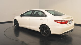 2016 Toyota Camry ASV50R Atara SX White 6 Speed Sports Automatic Sedan.