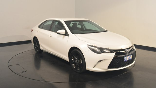 Used Toyota Camry ASV50R Atara SX, 2016 Toyota Camry ASV50R Atara SX White 6 Speed Sports Automatic Sedan