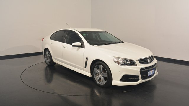 Used Holden Commodore VF MY14 SV6, 2014 Holden Commodore VF MY14 SV6 White 6 Speed Sports Automatic Sedan