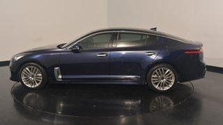 2017 Kia Stinger CK MY18 200S Fastback Deep Chroma Blue 8 Speed Sports Automatic Sedan.