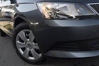 2018 Skoda Fabia NJ MY18.5 81TSI DSG Quartz Grey 7 Speed Sports Automatic Dual Clutch Hatchback.