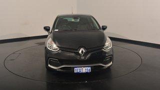 2014 Renault Clio IV B98 R.S. 200 EDC Sport Black 6 Speed Sports Automatic Dual Clutch Hatchback