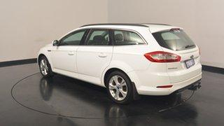2014 Ford Mondeo MC Zetec Tdci White 6 Speed Sports Automatic Wagon.